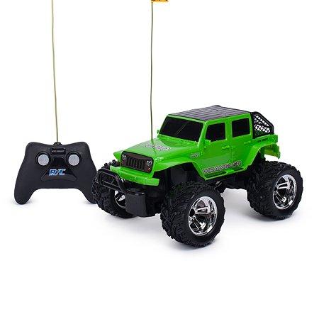 Машина New Bright РУ 1:16 Jeep Зеленый