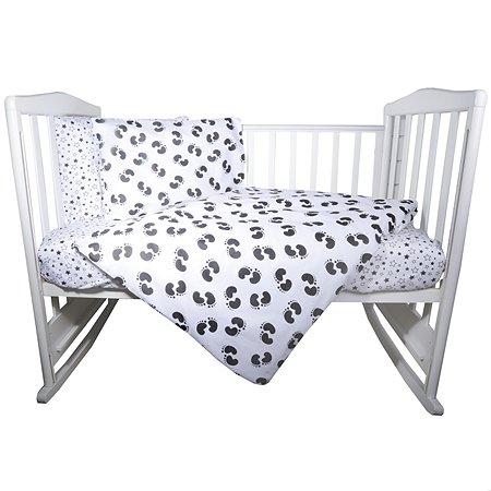 Комплект постельного белья Babyton Наррy Steps 4предмета 10005