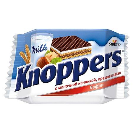 Вафли Knoppers молочно-ореховые 25г