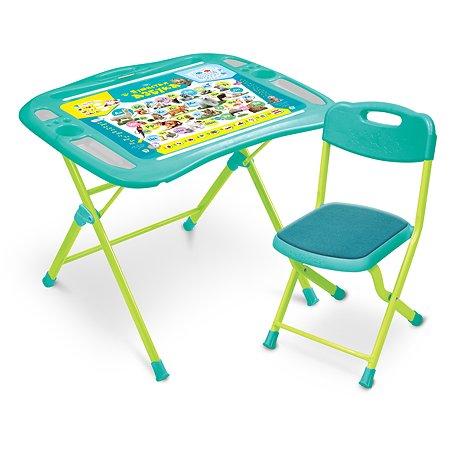 Комплект мебели NiKA kids Пушистая азбука NKP1/4