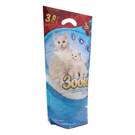 Наполнитель для кошек Зооник силикагелевый 3.8 л