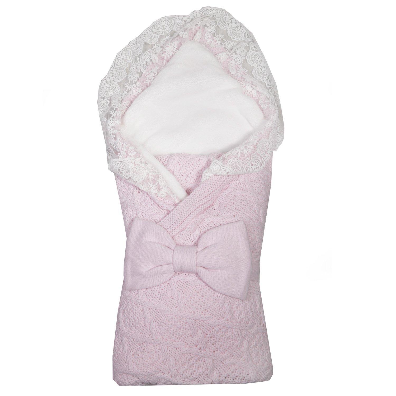 Комплект на выписку BabyEdel Итальяно 2предмета Розовый 11227