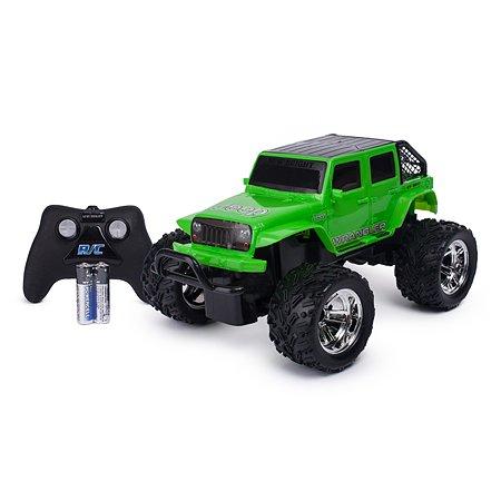 Машина New Bright РУ 1:18 Jeep Зеленая