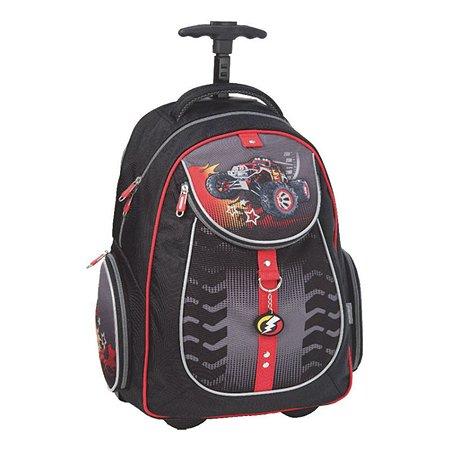 Рюкзак школьный Erich Krause на колесах BigFoot (черный)