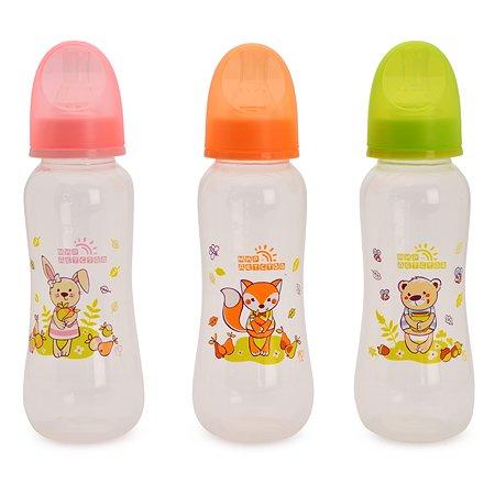 Бутылочка Мир Детства полипропилен 250 мл 0 мес+ в ассортименте