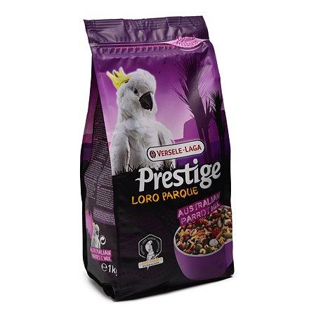 Корм для попугаев Versele-Laga Prestige Premium Australian Parrot Loro Parque Mix крупных 1кг