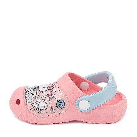 Сабо Hello Kitty розовые
