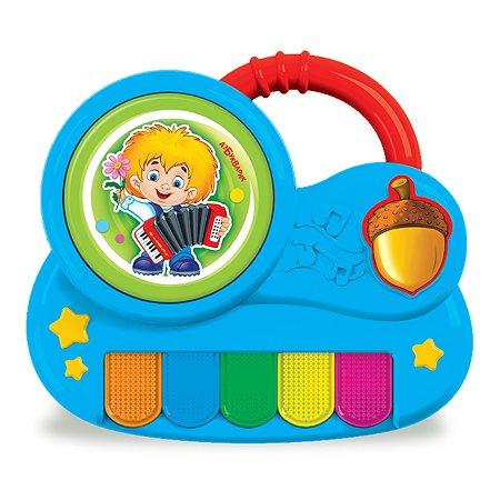 Игрушка Азбукварик Пианино Антошка с огоньками 2341