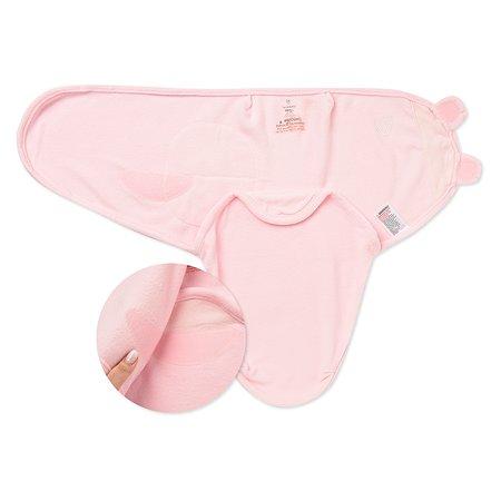 Конверт на липучке Summer Infant SwaddleMe S/M Розовый