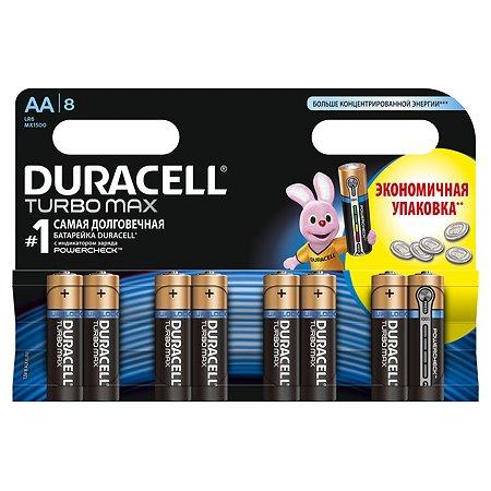 Батарейки Duracell TurboMax AA 1.5V LR6 8шт DRC-81480376