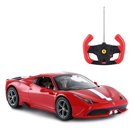 Машинка на радиоуправлении Rastar Ferrari 458 1:14 Красная