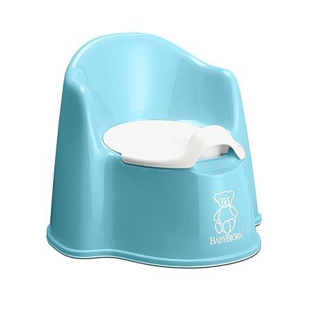 Горшок-кресло BabyBjorn Potty Chair Голубой