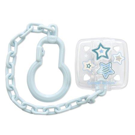 Клипса-держатель Canpol Babies для пустышек  0+ Newborn baby в ассортименте