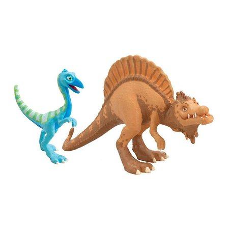 Динозавры Поезд динозавров Старый Спинозавр и X-Ray Орен
