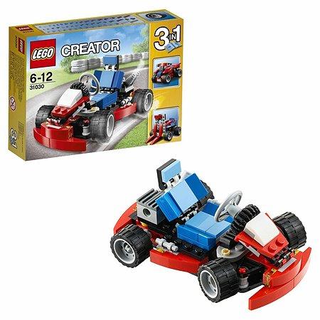 Конструктор LEGO Creator Красный гоночный карт (31030)