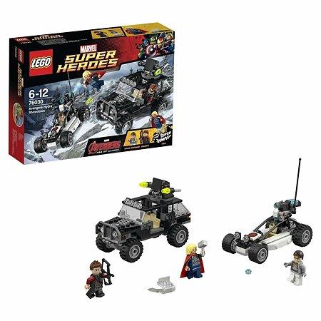 Конструктор LEGO Super Heroes Гидра против Мстителей (76030)