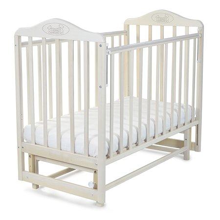 Кровать Наша мама Джулия с попер.маятником цв.береза