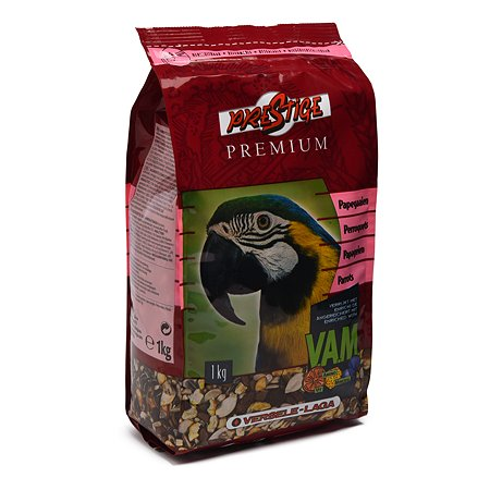 Корм для попугаев Versele-Laga Prestige Premium Parrots крупных 1кг