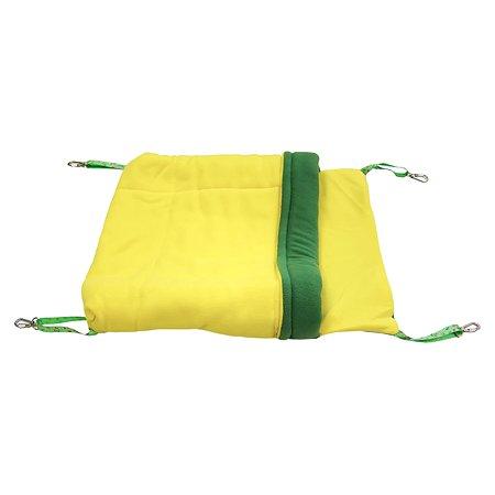 Гамак Доброзверики для хорьков и мелких грызунов Одеяло с карманом L ГХО2