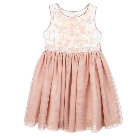 Платье PlayToday бежевое