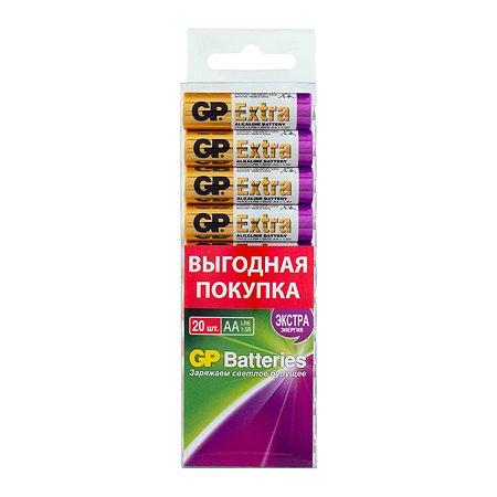 Батарейки GP Extra АА (LR6) 20шт 15AX-2CRB20