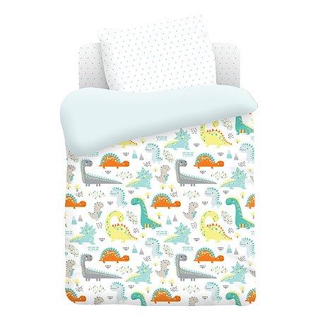 Комплект постельного белья TITINO Dinosaurs 4предмета 596758