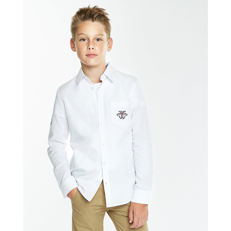 Рубашка Futurino Fashion белая
