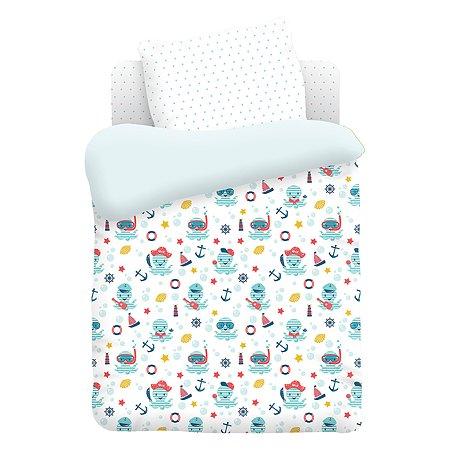 Комплект постельного белья TITINO Octopus 4предмета 596759
