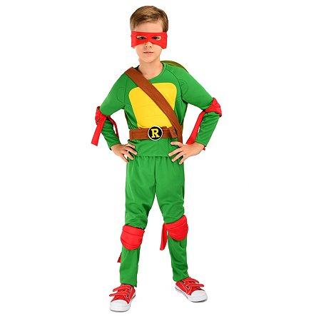 Костюм карнавальный Ninja Turtles(Черепашки Ниндзя) Рафаэль 3-5лет 92-110 55002-XS