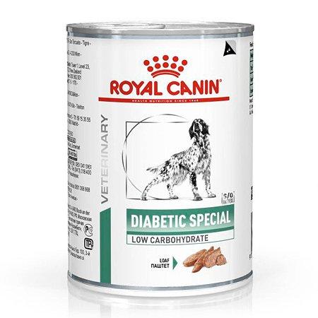 Корм для собак ROYAL CANIN Diabetic Special Low Carbohydrate при сахарном диабете консервированный 0.41кг