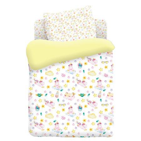 Комплект постельного белья TITINO Unicorns 4предмета 596760