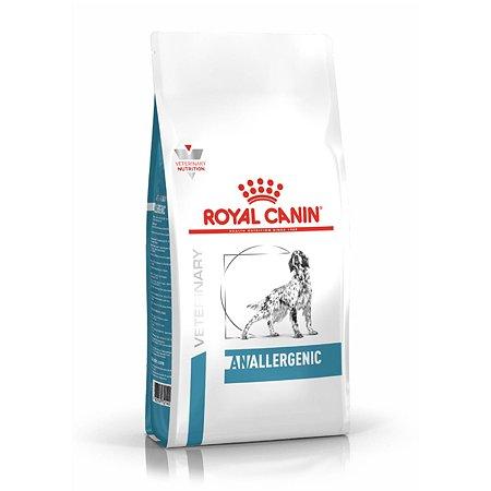 Корм для собак ROYAL CANIN Anallergenic AN18 при пищевой аллергии с острой непереносимостью 3кг
