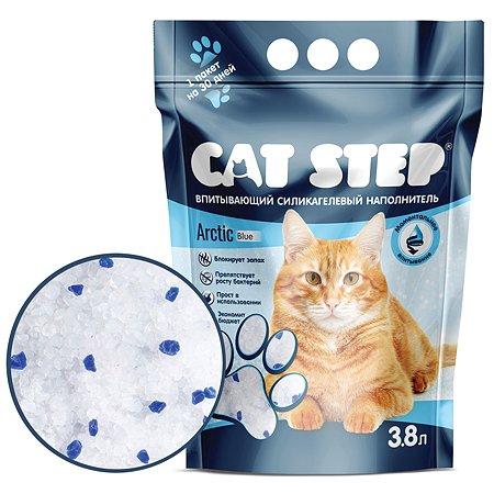Наполнитель для кошек Cat Step силикагелевый 3.8л