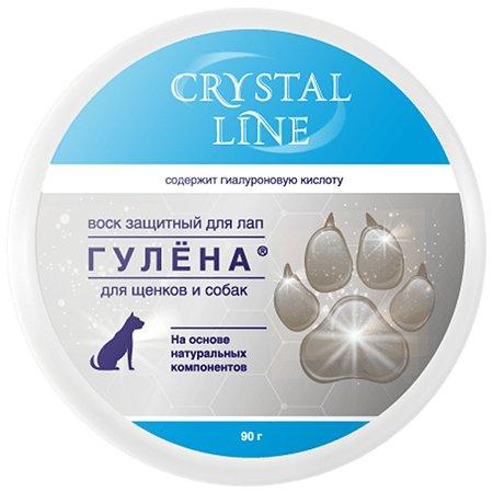 Воск для лап Apicenna Crystal Line Гулена защитный 90г