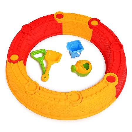 Песочница Hualian Toys круглая сборная 8162