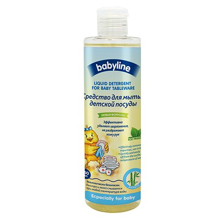Средство Babyline для мытья детской посуды 250мл DB044/N