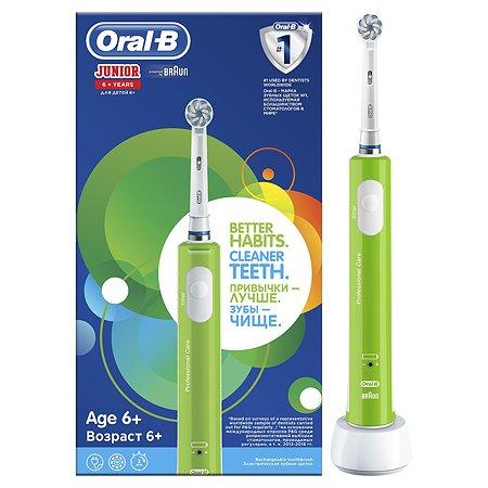 Зубная щетка Oral-B Junior электрическая с 6 лет 80313272