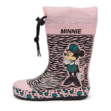 Резиновые сапоги Minnie Mouse розовые