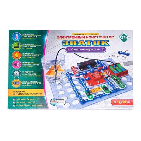 Конструктор электронный Знаток Супер-измеритель Р70694