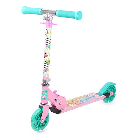 Самокат Kreiss Barbie 2-колесный HF-TB001-B