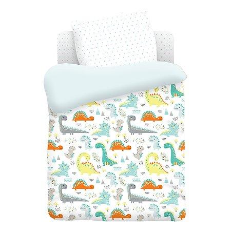 Комплект постельного белья TITINO Dinosaurs 6предметов 596765
