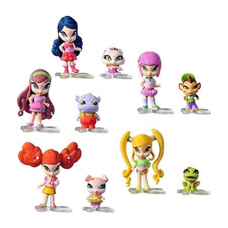 Кукла Bandai Pop Pixie 4 см Малышка с питомцем в ассортименте