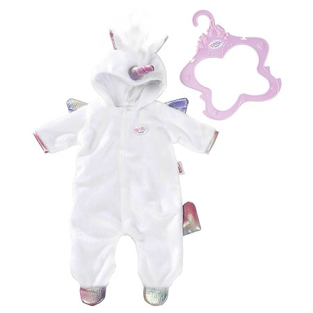 Одежда для куклы Zapf Creation Baby born Комбинезон Единорог 824-955