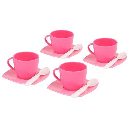 Набор посуды Полесье Алиса на 4 персоны (12 элементов) (в сеточке)