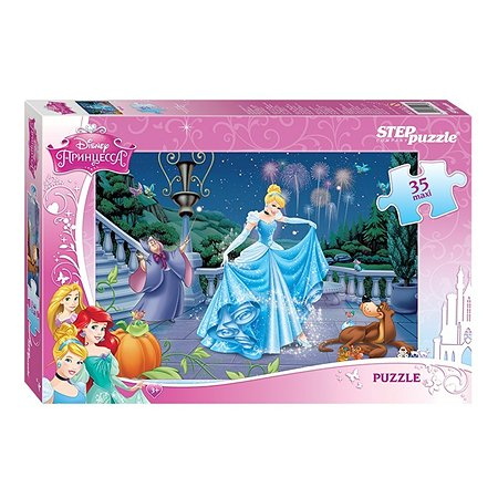 Пазл Step Puzzle Maxi Принцесса Золушка 35 элементов 91218