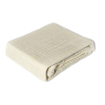 Одеяло вязаное Baby Nice 100х140 молочное