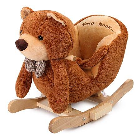 Качалка-медвежонок Baby Go музыкальная