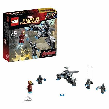 Конструктор LEGO Super Heroes Железный человек против Альтрона (76029)