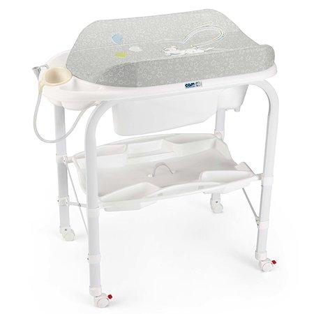 Пеленальный столик с ванной CAM Cambio цв. 226