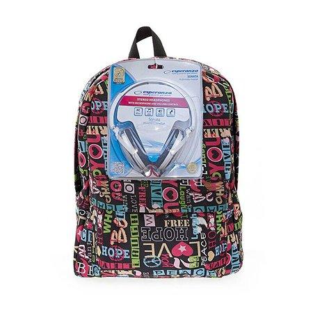 Рюкзак с наушниками 3D-Bags Хиппи (мульти)